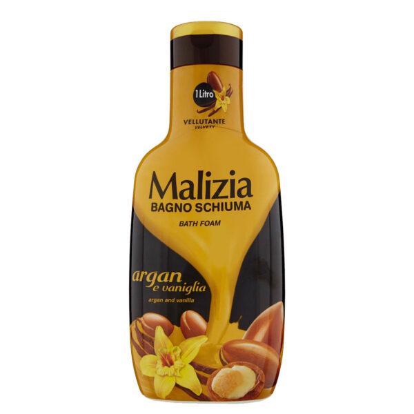 شامپو بدن مالیزیا مدل argan and vanilla حجم 1000 میلی لیتر